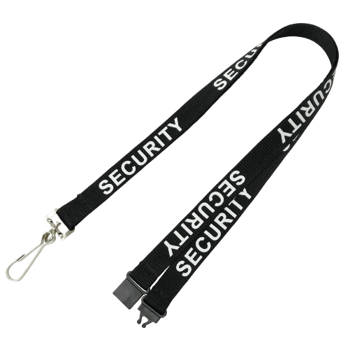 Black Security Lanyards