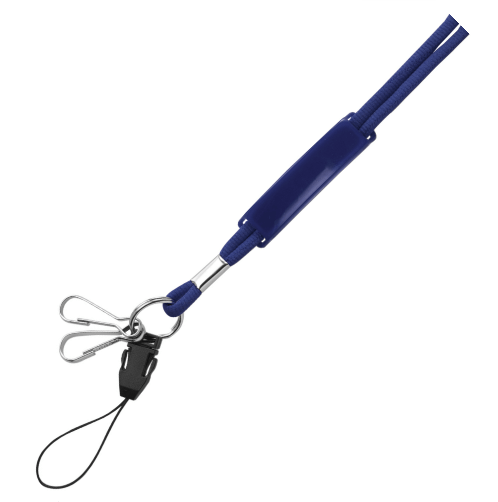 Blue Cord Lanyards