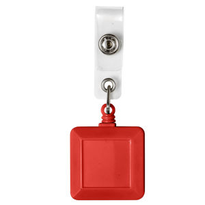 Square Red Badge Reels