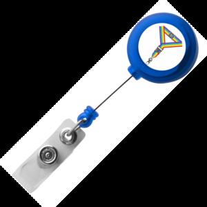 Translucent Blue Lanyard Reels