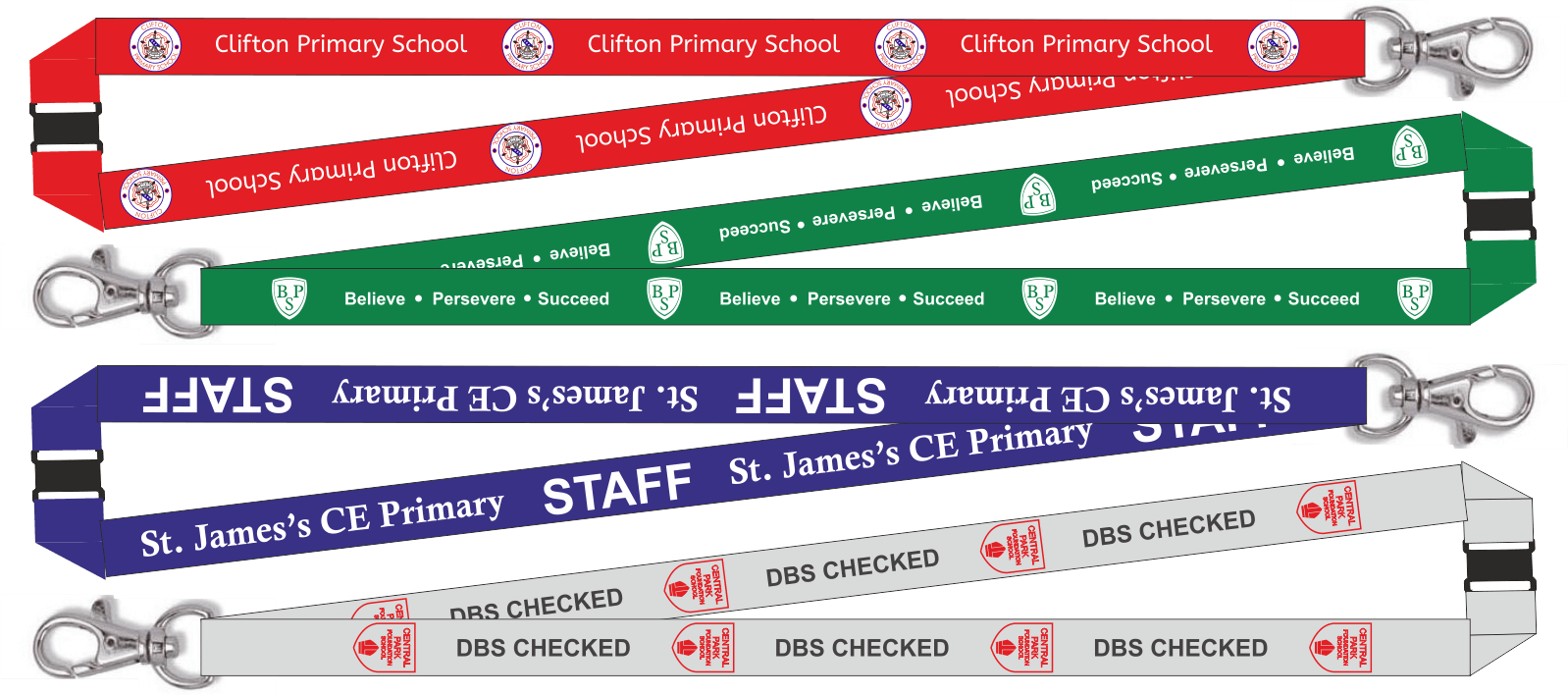 Printed School Lanyards